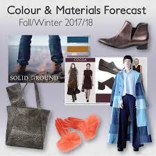 fall winter 2017 18 colour u0026 materials forecast u2014 colour u0026 trends