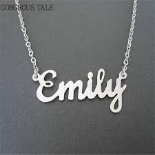 Custom Necklaces Online Shop Gorgeous Tale Personalized Necklaces Handmade Name