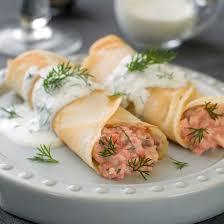 cuisine az crepes recette crêpe salées au saumon