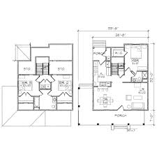 corner lot duplex plans benson i bungalow floor plan tightlines designs