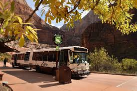 Zion National Park Thanksgiving Shuttles Run Weekends Only Through November 20 Zion National