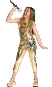 davy crockett halloween costume kids camp rock gold costume