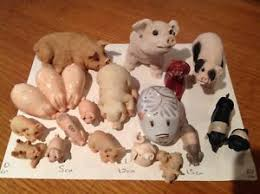 collection ornamental pigs ebay