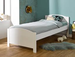 chambre opale lit enfant opale blanc pin massif 90x200 avec matelas et sommier