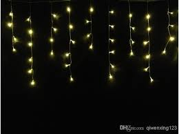 led dripping icicle christmas lights new year 3mx0 6mx0 4m led dripping icicle string light 220v
