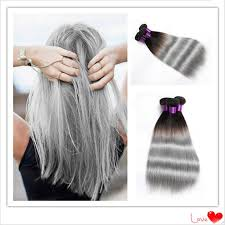 silver hair extensions cheap ombre hair extensions 1b silver grey hair weave