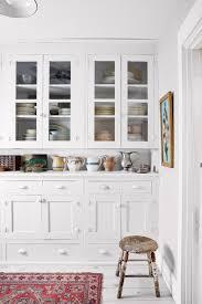 kitchen design bright kitchen ideas white classy style glass door