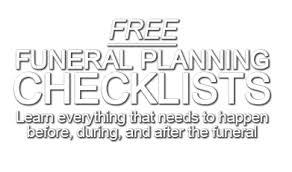 funeral planning guide funeral planning guide free in loving memory
