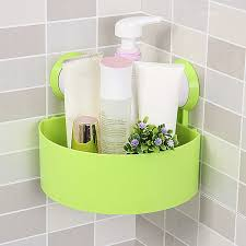 Corner Storage Shelves by Popular Plastic Bathroom Wall Corner Shelf Suction Buy Cheap