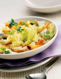 cuisine dietetique recette soupe paysanne au chou