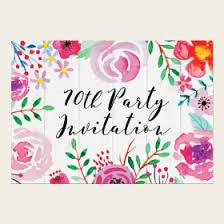70th birthday invitations from dotty about paper