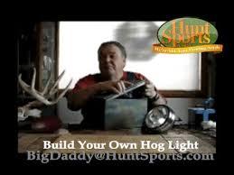 hog hunting lights for feeder build your own led solar power dusk dawn hog hunting deer feeder