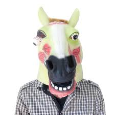 cosplay unicorn pig clown witch head mask halloween dress party