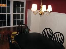 image of dining room beadboard wainscoting gorgeous image of