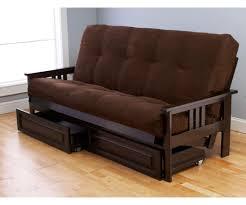 futon brown futon sofa sleeper chester serta dream sleeper the