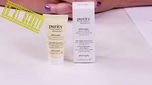 simple light moisturizer review philosophy new purity made simple ultra light moisturizer review