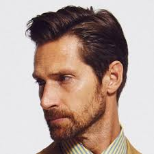 mens middle parting hairstyle 5 modern side part hairstyles for men