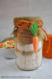 m u0026m u0027s carrot cake cookies in a jar and easy easter brunch ideas