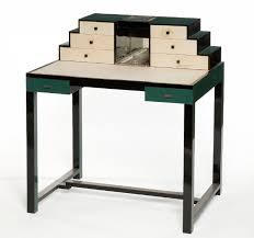 bureau metal et verre bureau de dame à gradin jean charles moreux 1889 1956 vers