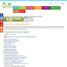 printable english grammar exercises esl grammar worksheets