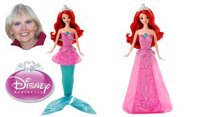 disney princess mermaid princess singing ariel doll