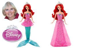 disney princess mermaid princess singing ariel doll