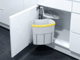 under sink garbage can black 8 gal under the cabinet pull out full size of under sink garbage can with lid canada under the sink trash bin size