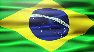 Brizil Flag Brazil Flag Moving Footage Hd Youtube