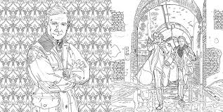 Amazon Com Sherlock The Mind Palace A Coloring Book Adventure The Coloring Book