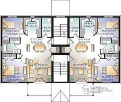 three plex floor plans best 4 plex apartment plans contemporary liltigertoo com