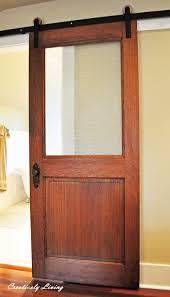 rustic diy single sliding barn door for closet decofurnish bedroom