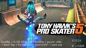 tony hawk pro skater apk tony hawk pro skater 5 60fps exclusive gameplay
