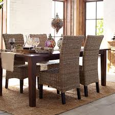 Dining Room Table Cloth Kubu Dining Chair Pier 1 Imports