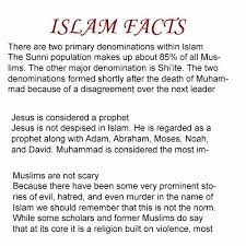 muslim religion is the best nteresting islam facts