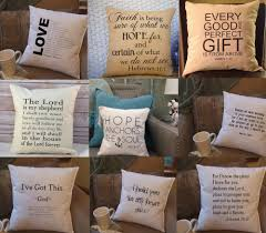 decorative sofa pillows bible scripture word quote throw pillow cushions cover case