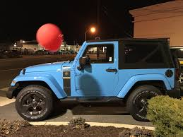 jeep chief just spotted a freedom edition in chief blue jeep wrangler forum