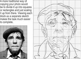 drawing with a grid i loved drawing enlarging like this back in