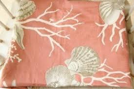 Salmon Colored Shower Curtain Coral Colored Shower Curtain Interior Design