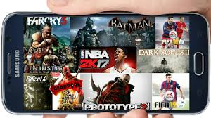 play heavy pc playstation xbox games on android phone without