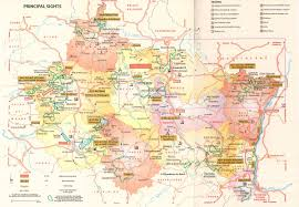Alsace France Map by Lorraine Champagne Travel Guide Michelin Maps U0026 Guides