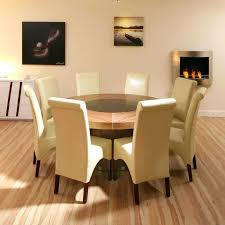 Glass Dining Room Furniture 8 Person Round Table U2013 Thelt Co