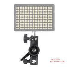 metal studio 180 swivel video light stand lighting bracket holder
