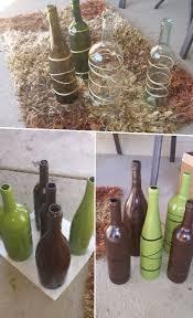 53 best wine bottle crafts images on pinterest wine bottle