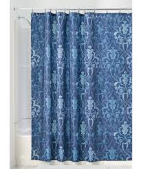 Blue Damask Shower Curtain Blue And White Damask Shower Curtain Shower Curtains Ideas