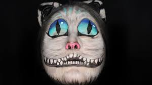 cheshire cat face paint tutorial youtube