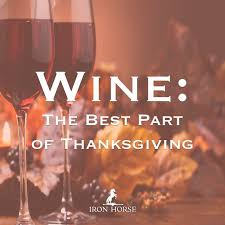 iron vineyards a peaceable thanksgiving wine as