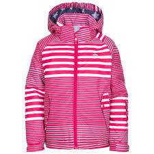 trespass oakle kids waterproof jacket boys girls winter warm