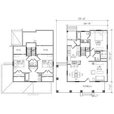 benson ii bungalow floor plan tightlines designs
