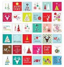 modern christmas cards christmas place cards