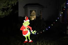 grinch christmas decoration grinch taking christmas lights christmas decor and